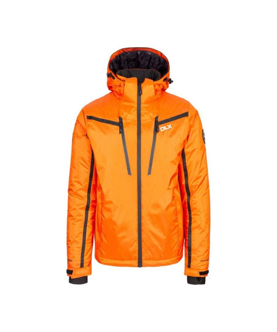 Image for Trespass Mens Jasper DLX Ski Jacket (Orange)