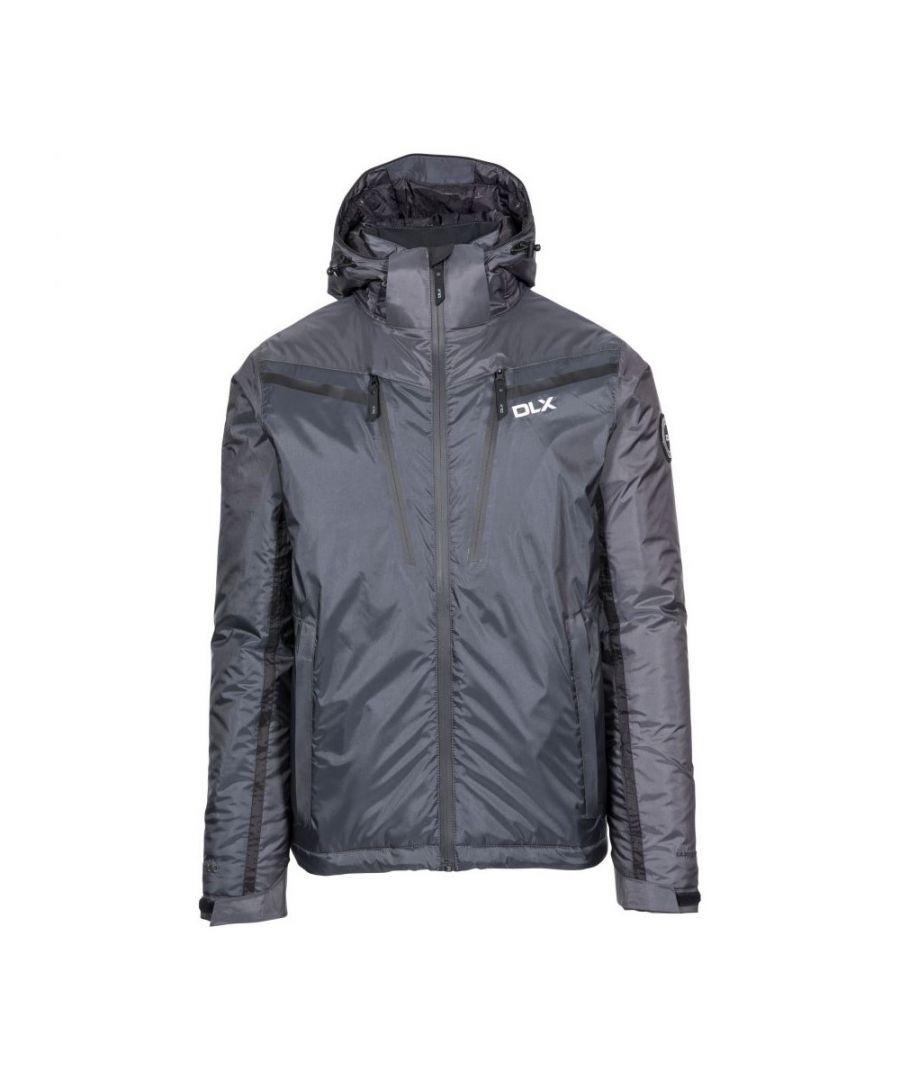 Image for Trespass Mens Jasper DLX Ski Jacket (Pewter Grey)