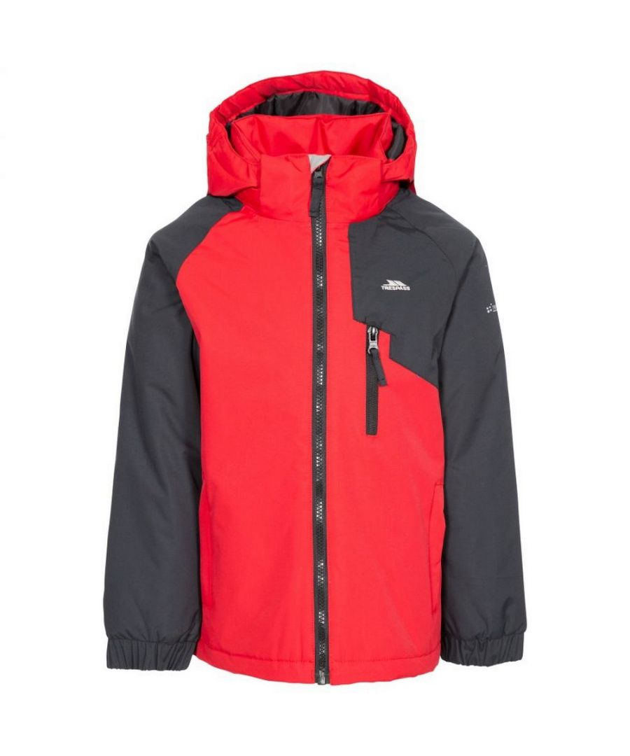Image for Trespass Childrens/Kids Useful Waterproof Jacket (Red)