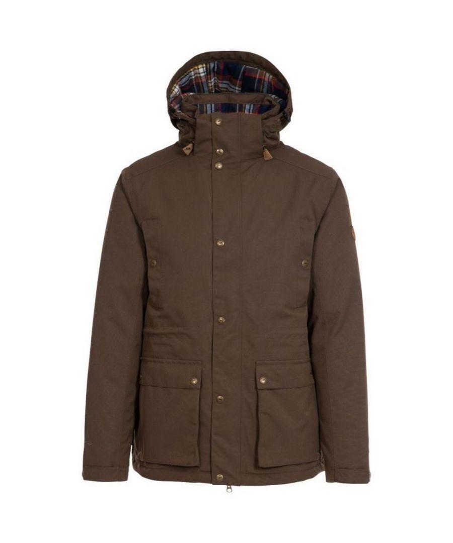 Image for Trespass Mens Puxtoncombe Padded Jacket (Khaki Brown)
