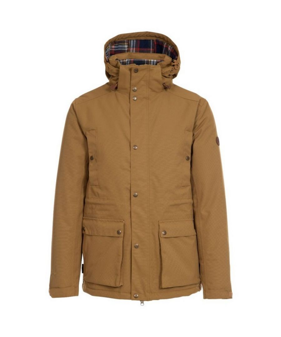 Image for Trespass Mens Puxtoncombe Padded Jacket (Dijon)