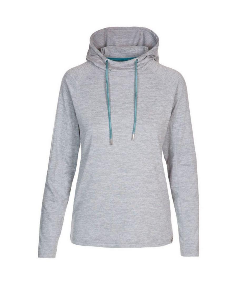 Image for Trespass Womens/Ladies Hattie Active Hoodie (Platinum Grey Marl)
