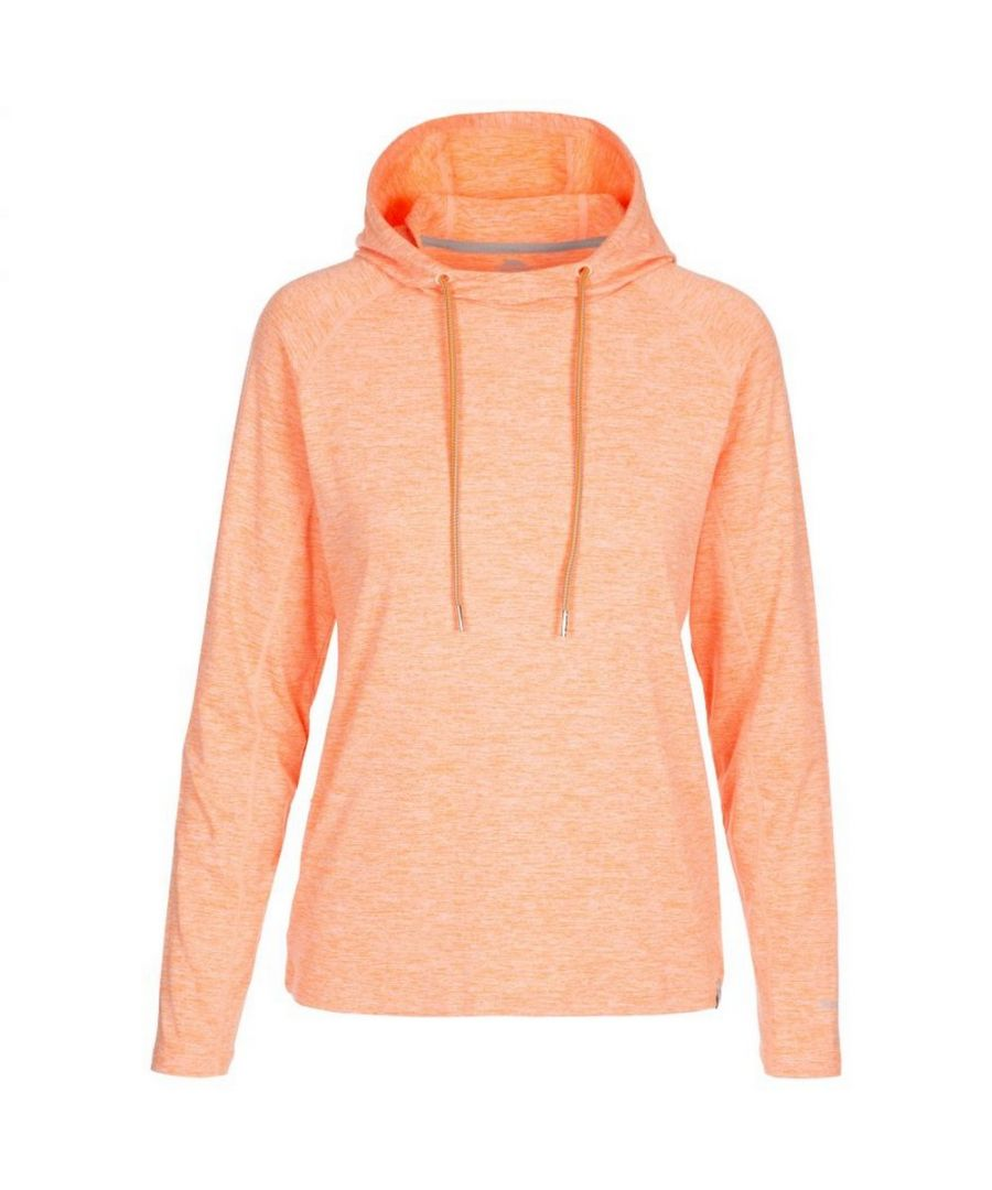 Image for Trespass Womens/Ladies Hattie Active Hoodie (Orange Marl)
