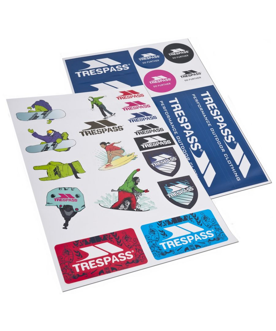 Image for Trespass Die Cut Sticker Kit