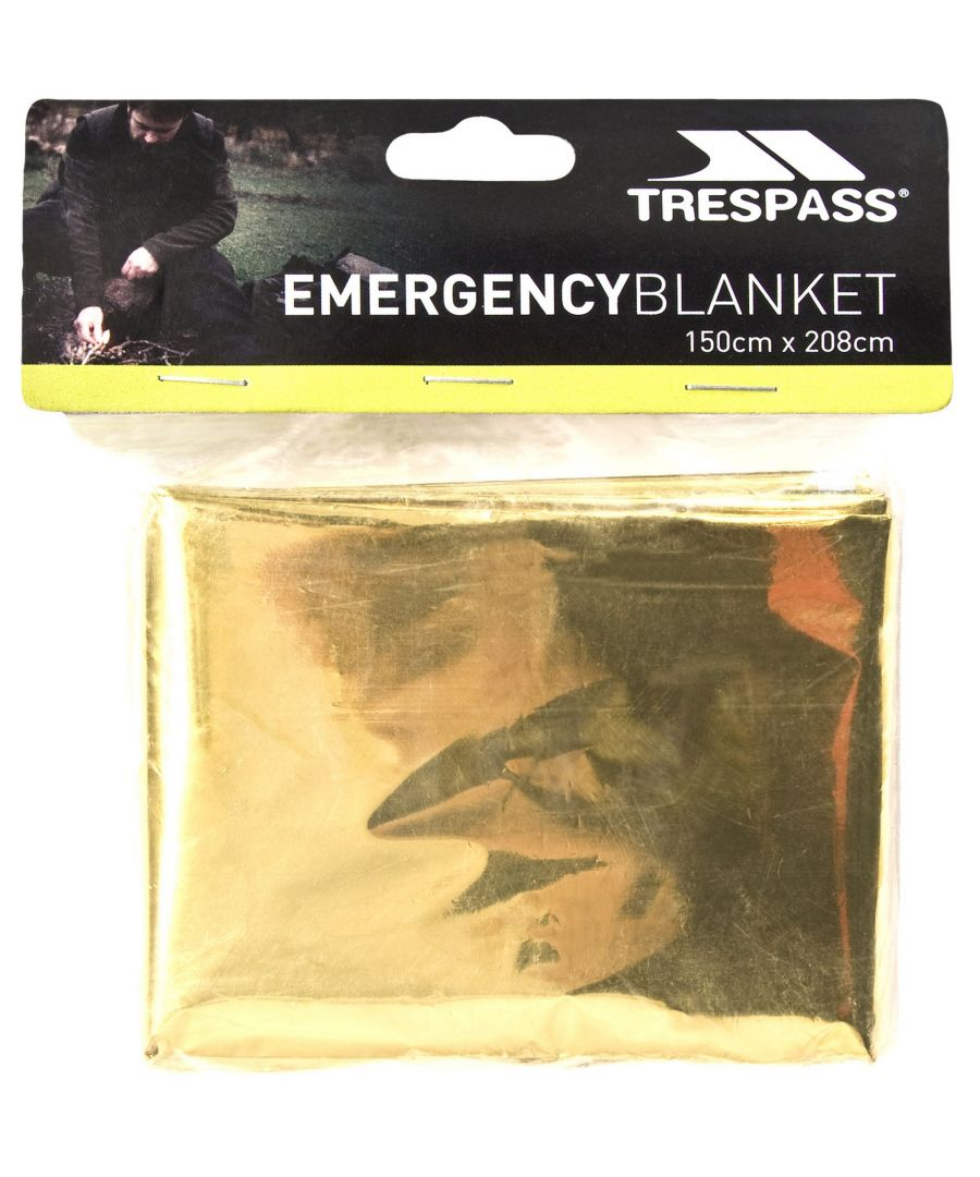 Image for Trespass Foil X Emergency Blanket (Gold)
