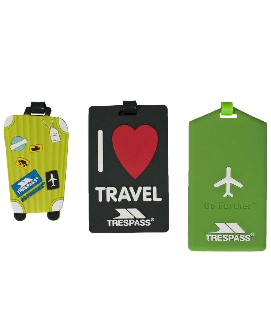 Image for Trespass Traveltag Assorted Luggage Tag