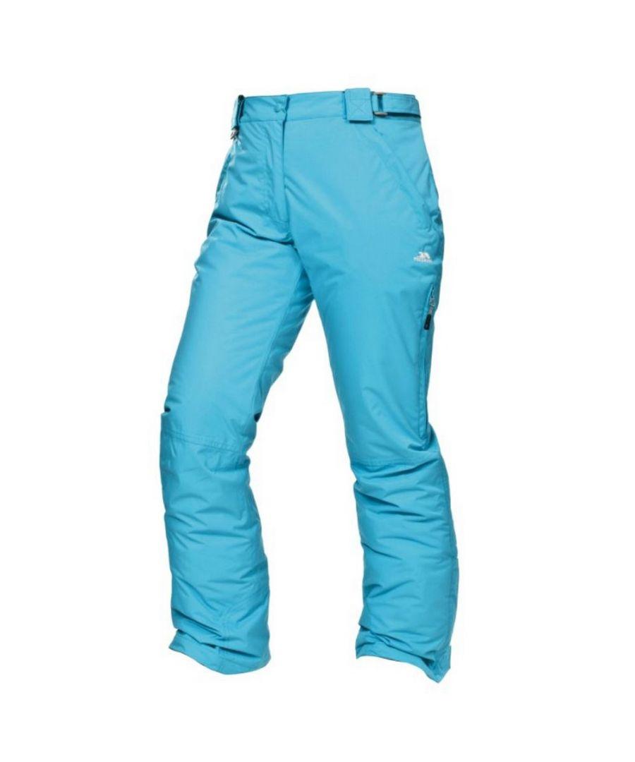Image for Trespass Womens/Ladies Lohan Waterproof Ski Trousers (White)