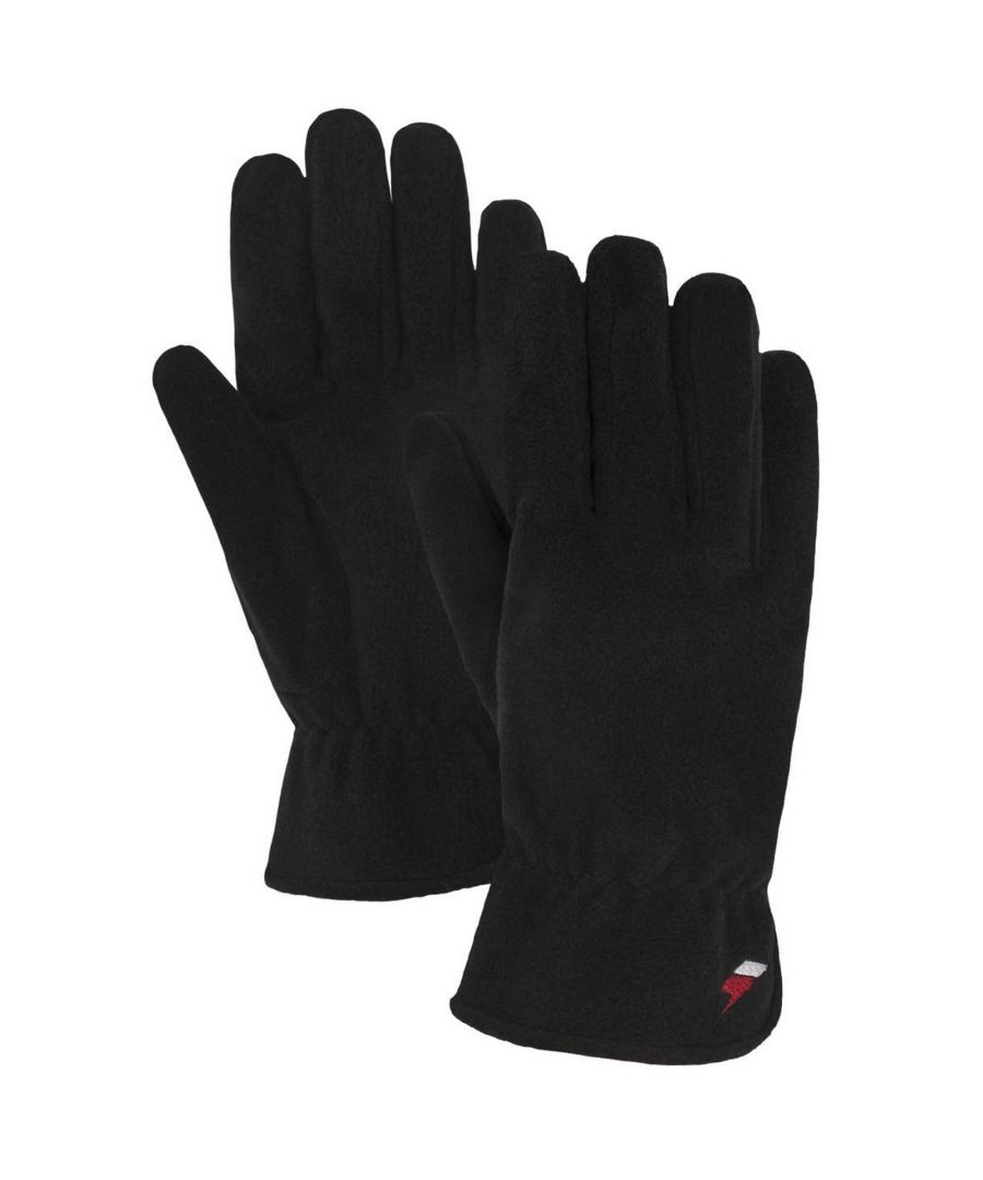 Image for Trespass Womens/Ladies Plummet Fleece Gloves (Black)