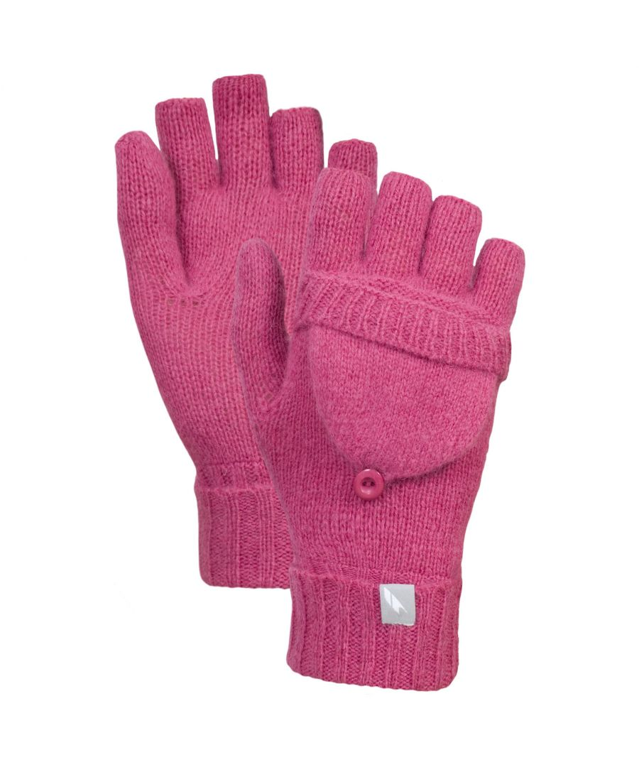 Image for Trespass Womens/Ladies Tussock Fingerless Gloves