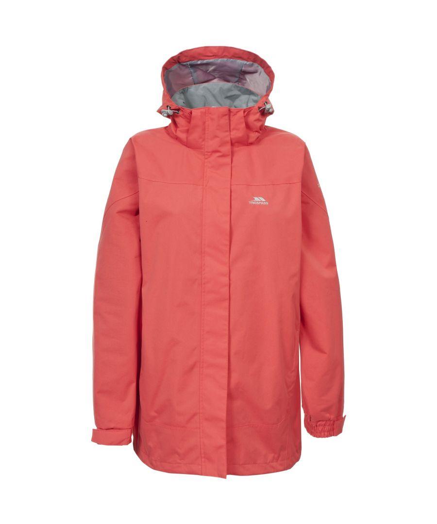 Image for Trespass Womens/Ladies Anne Waterproof Jacket (Blush)