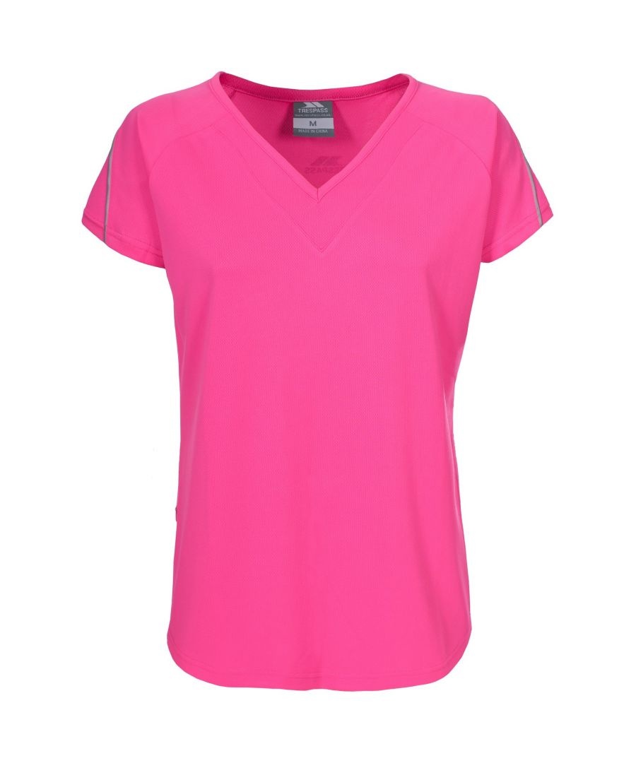 Image for Trespass Womens/Ladies Gliding V-neck T-Shirt