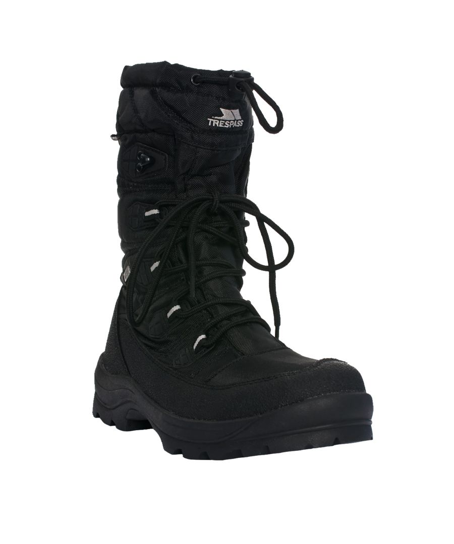 Image for Trespass Mens Yetti Lace Up Snow Boots