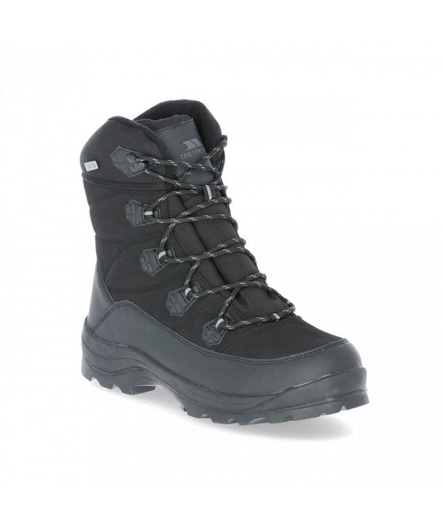 Image for Trespass Mens Zotos Waterproof Snowboots