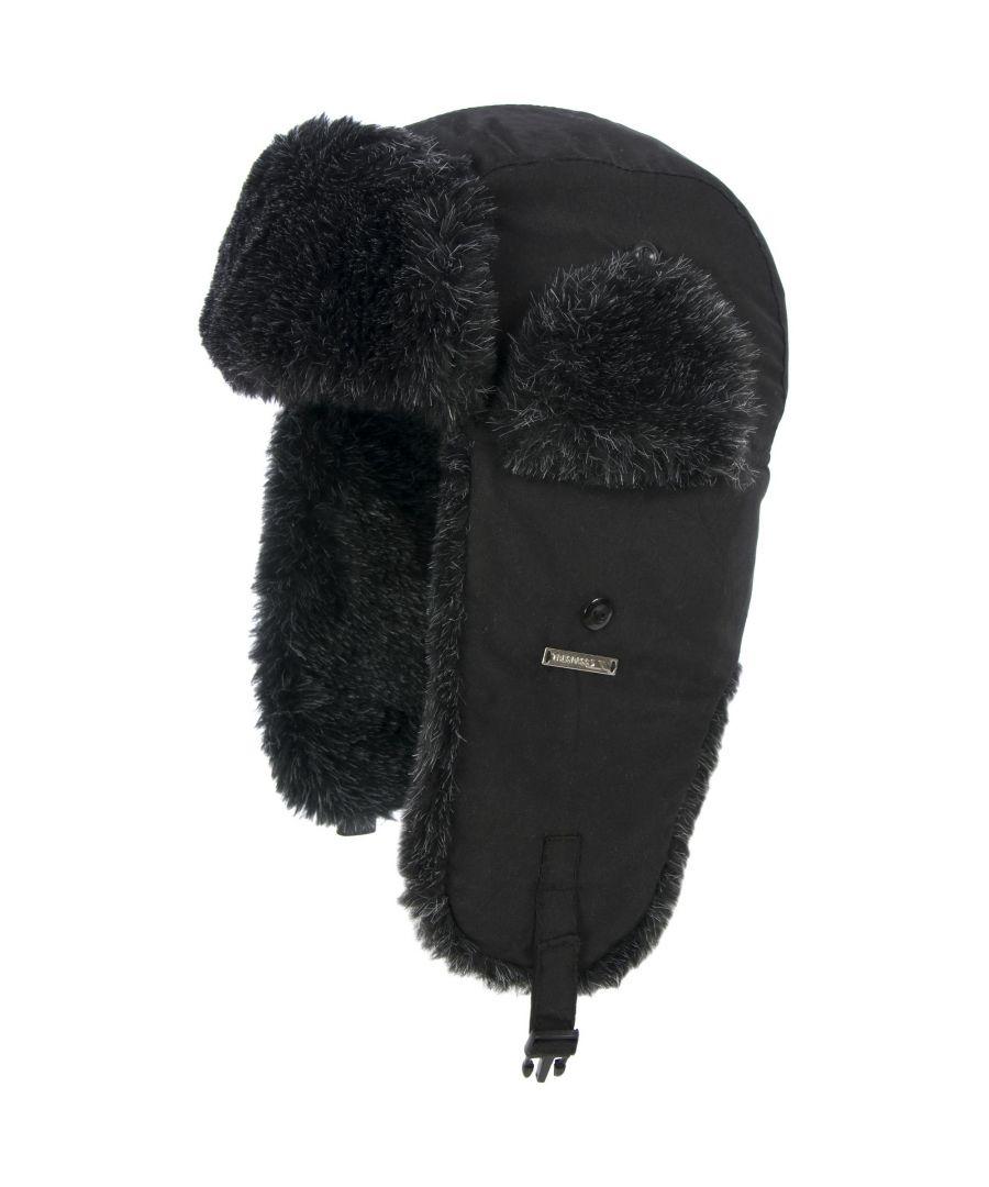Image for Trespass Mens Sherwood Trapper Hat (Black)
