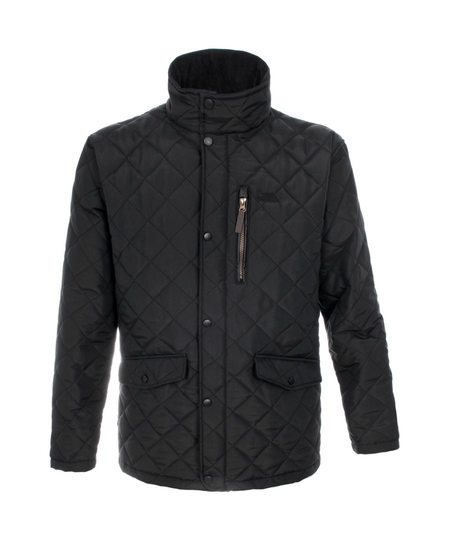 Image for Trespass Mens Argyle Quilted Jacket