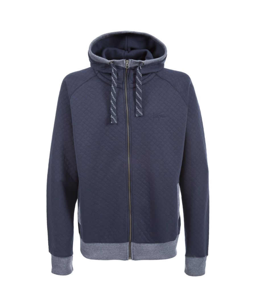 Image for Trespass Mens Cirrus Quilted Full Zip Hoody