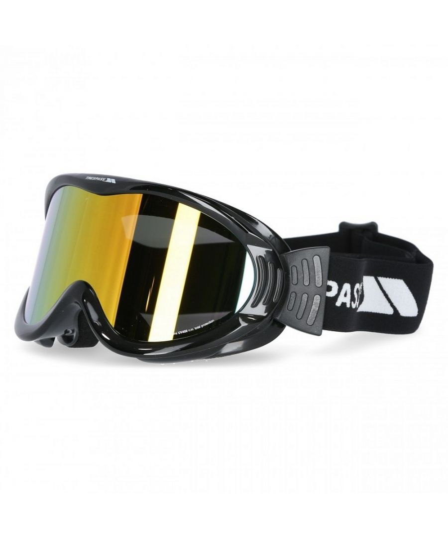 Image for Trespass Adults Unisex Vickers Double Lens Snow Sport Ski Goggles