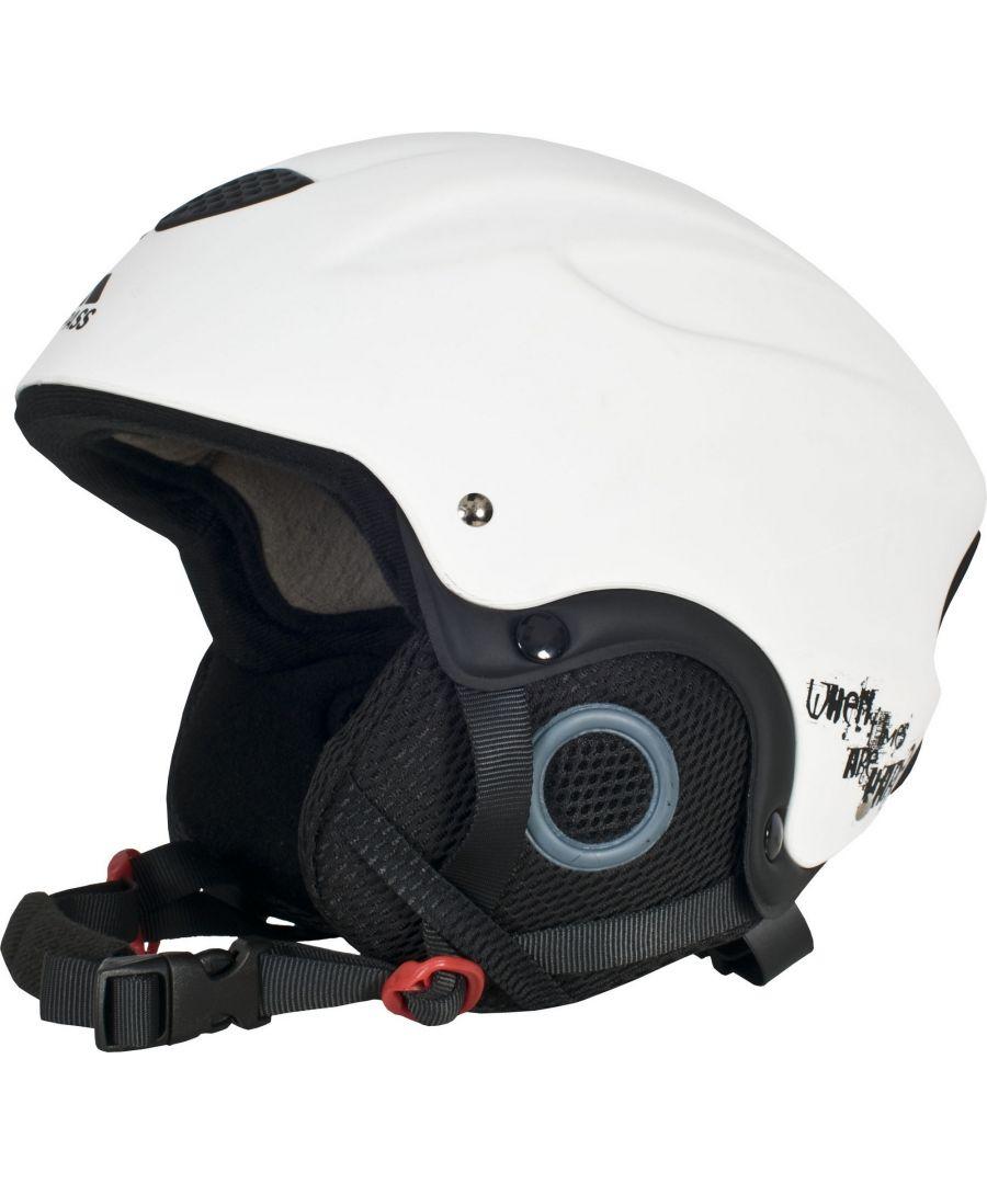 Image for Trespass Adults Skyhigh Protective Snow Sport Ski Helmet