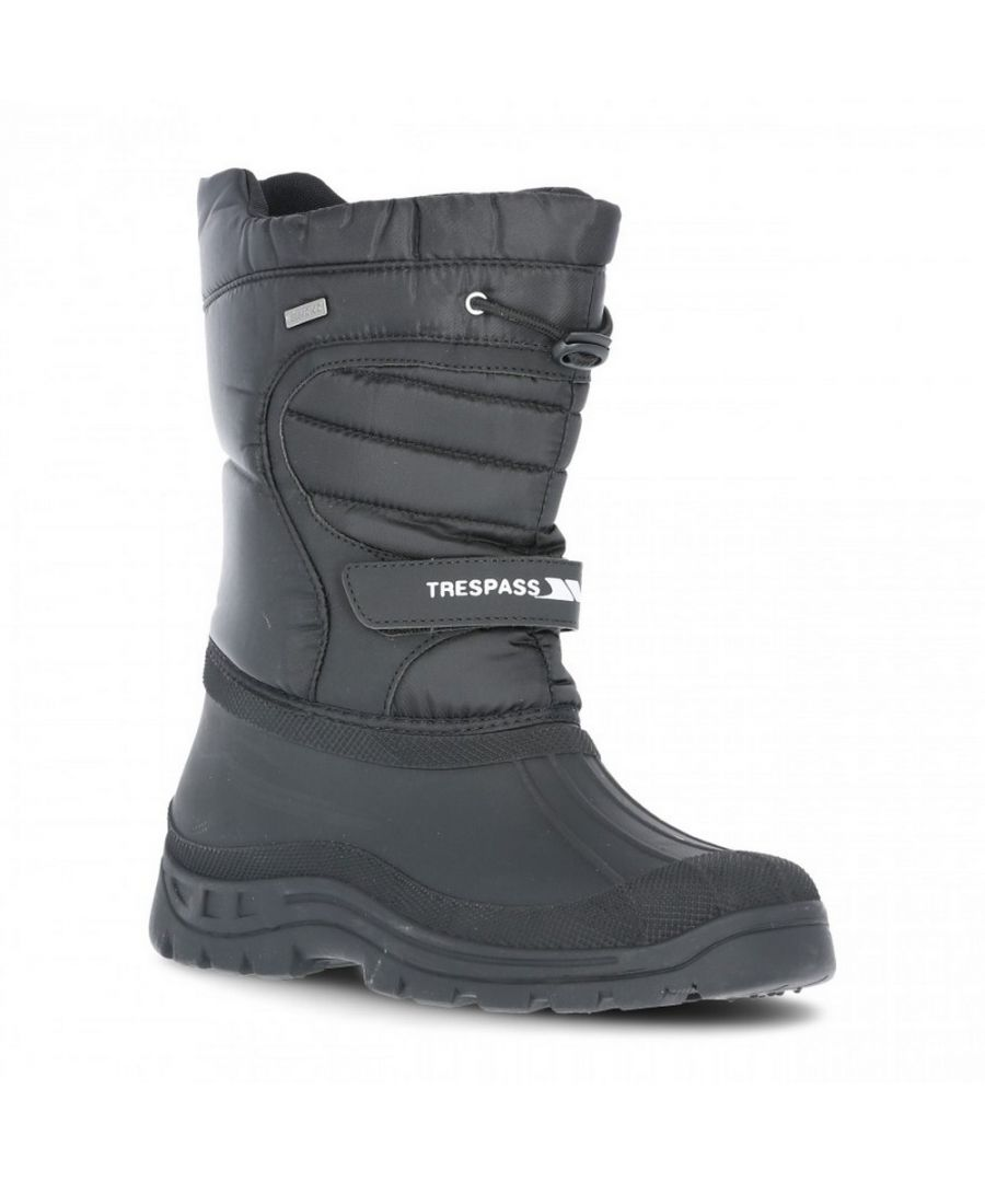 Image for Trespass Unisex Dodo Pull On Winter Snow Boots