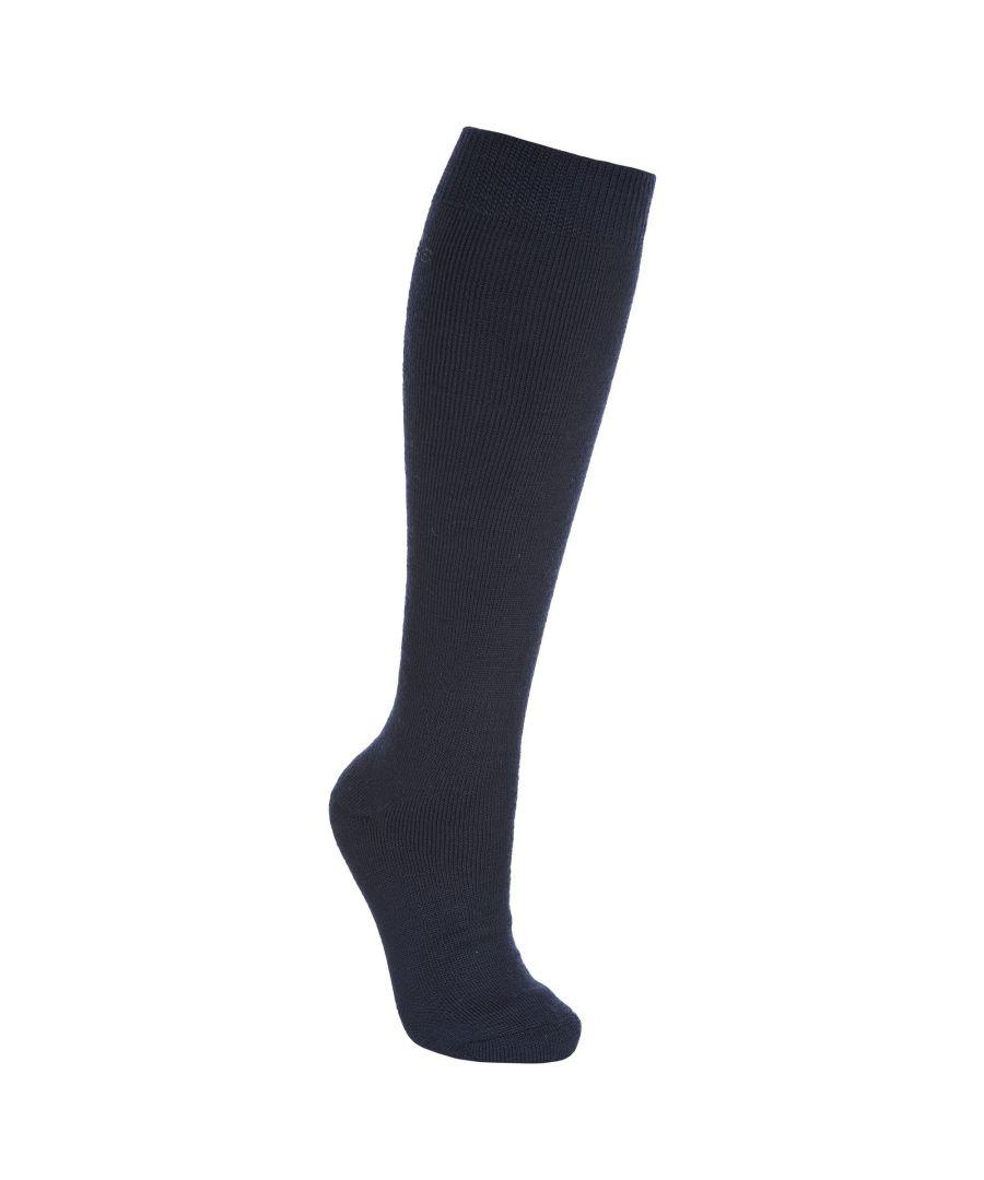 Image for Trespass Adults Unisex Tech Luxury Merino Wool Blend Ski Tube Socks