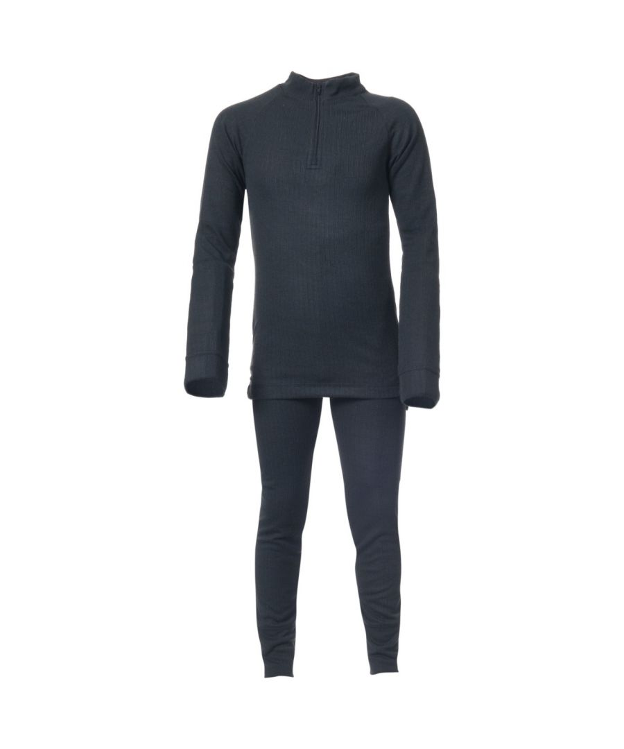 Image for Trespass Kids Unisex Unite360 Thermal Base Layer Set (Top And Bottoms)