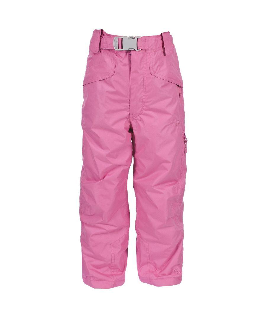 Image for Trespass Kids Unisex Marvelous Ski Pants With Detachable Braces