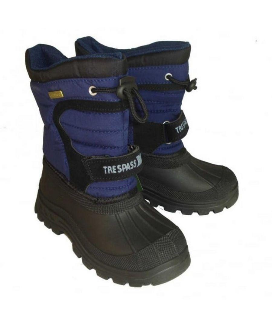 Image for Trespass Kids Unisex Kukun Pull On Winter Snow Boots