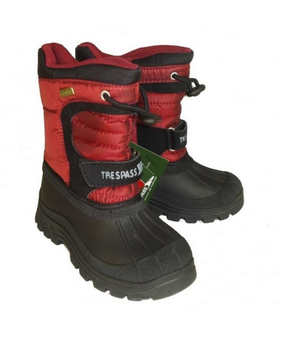 Image for Trespass Kids Unisex Kukun Pull On Winter Snow Boots