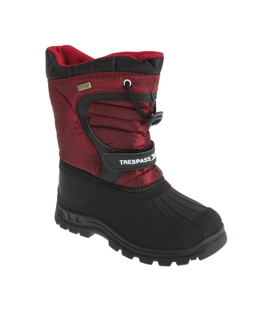 Image for Trespass Kids Unisex Dodo Water Resistant Snow Boots