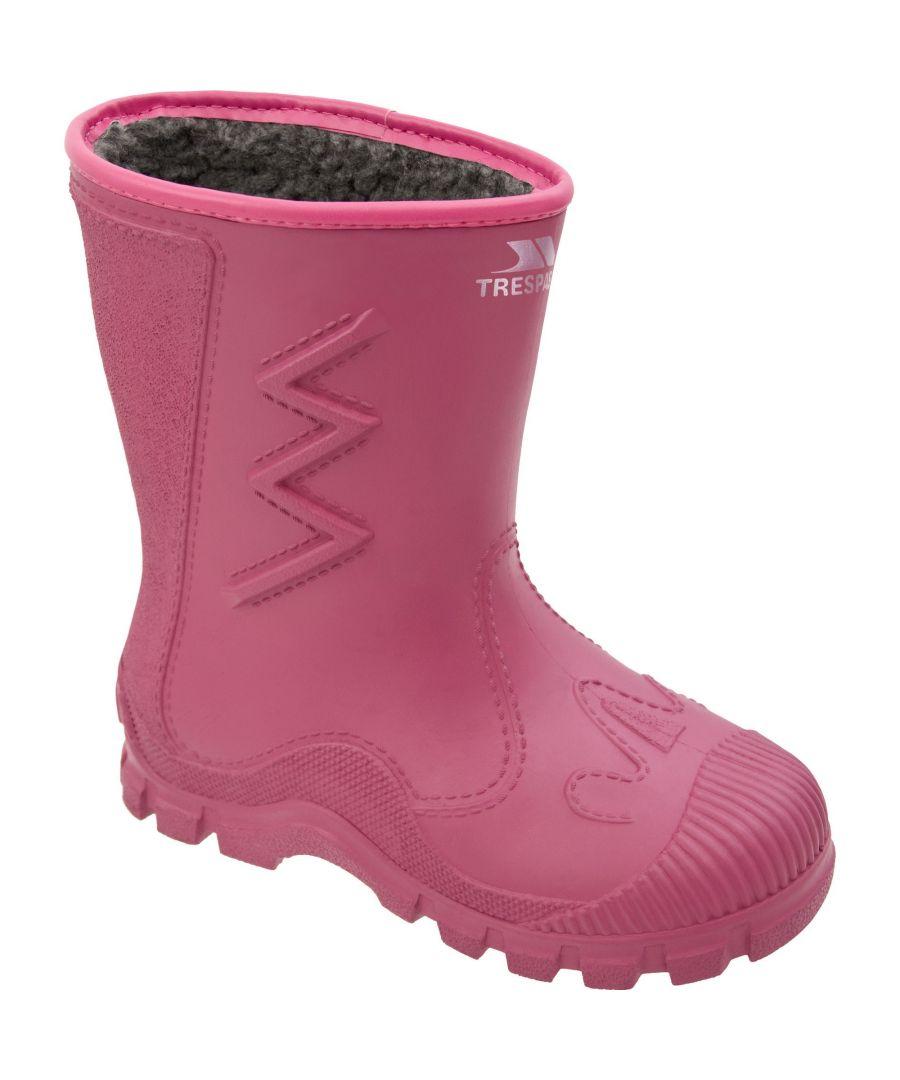 Image for Trespass Kids Unisex Toetey Waterproof Fleece Lined Wellies