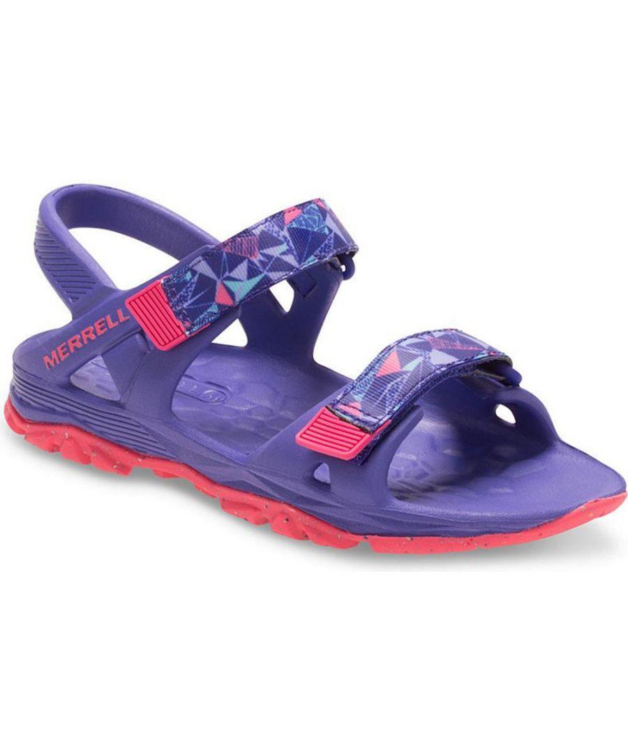 Image for Merrell Girls Hydro Drift Casual Slingback Summer Beach Sandals