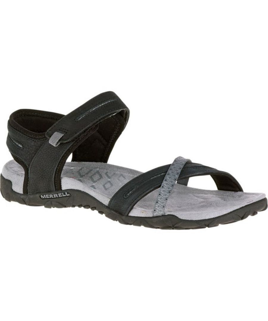 Image for Merrell Womens/Ladies Terran Cross II Leather Slingback Sandals