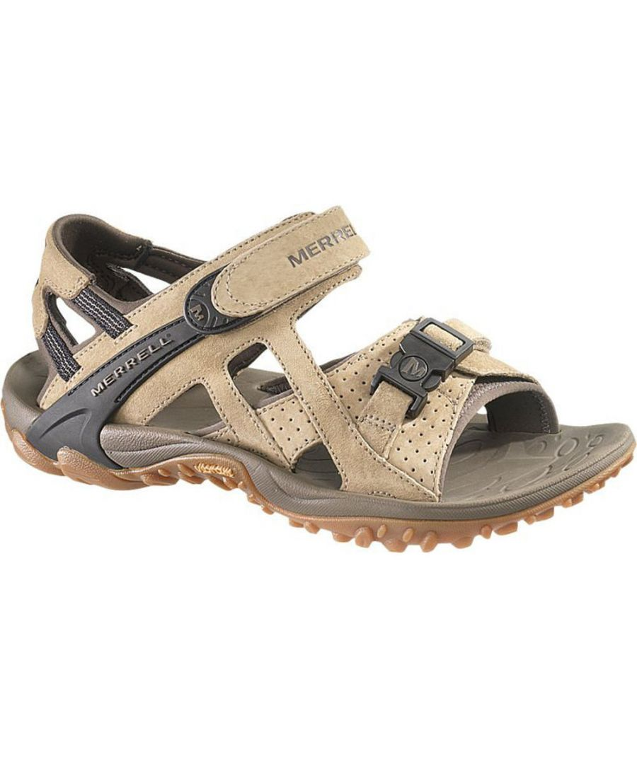 Image for Merrell Mens Kahuna III Pig Suede Leather Hiking Walking Sandals