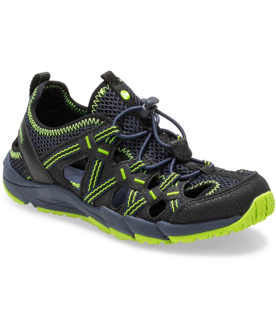 Image for Merrell Boys & Girls M-Hydro Choprock Open Walking Shoes