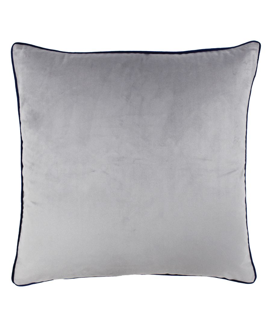 Image for Meridian 55X55 Poly Cushion Sil/Nav