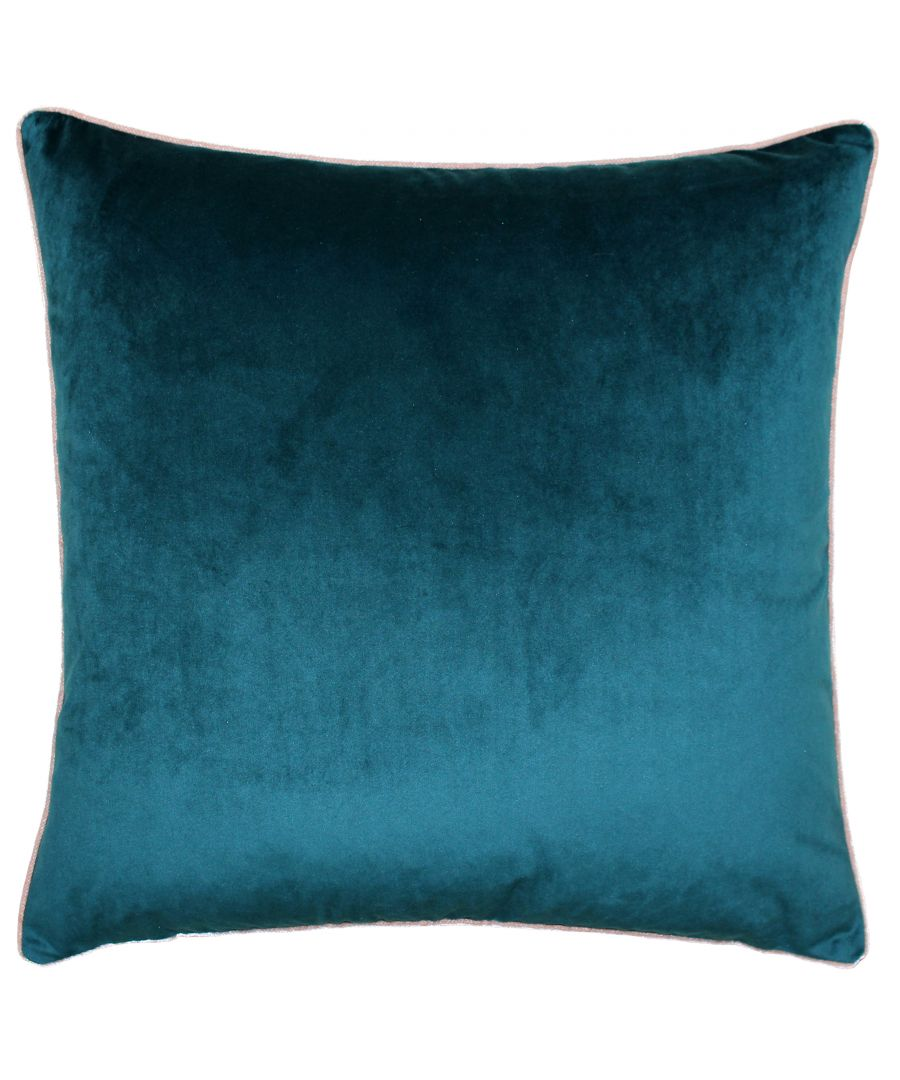 Image for Meridian 55X55 Poly Cushion Tea/Blu