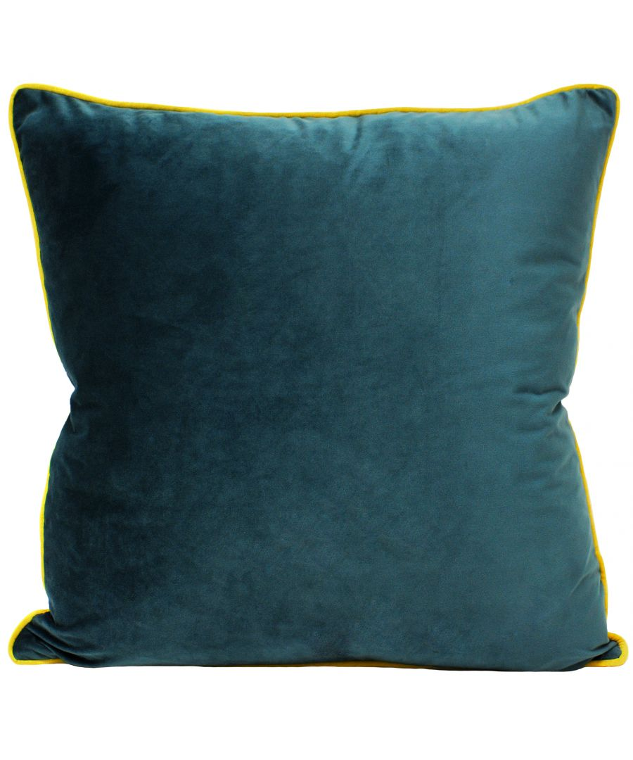 Image for Meridian 55X55 Poly Cushion Tea/Cyl