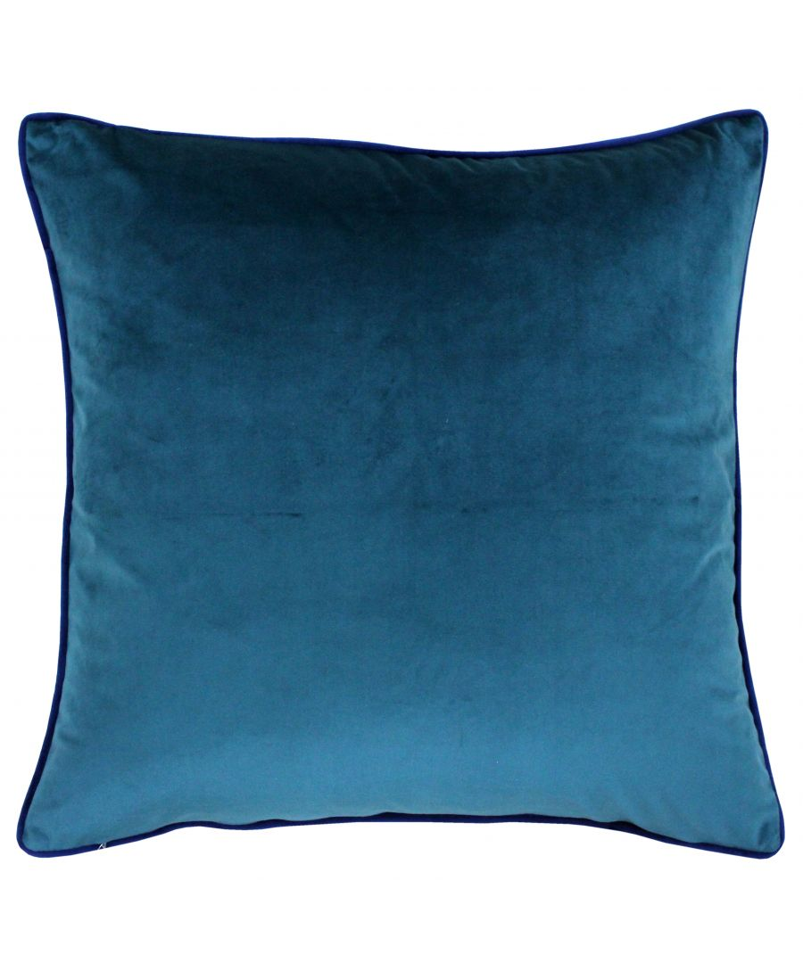 Image for Meridian 55X55 Poly Cushion Tea/Nvy