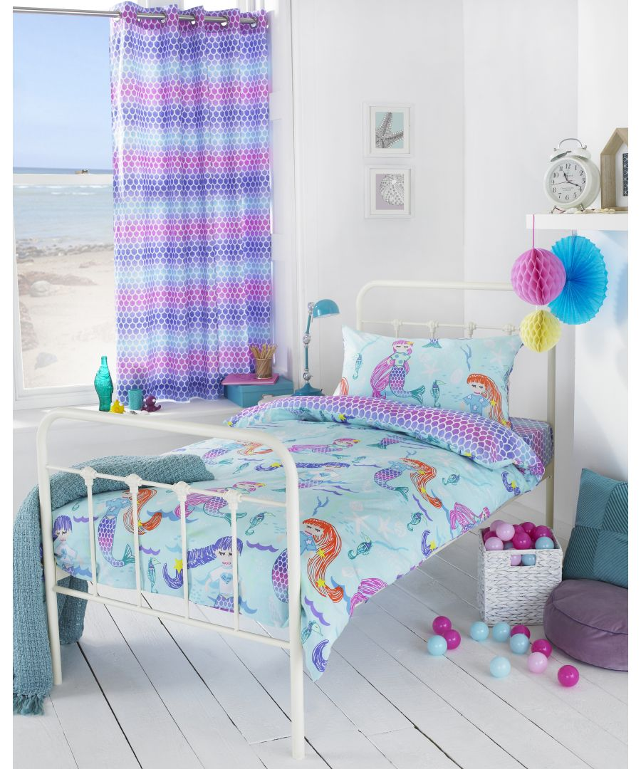 Image for Mermaid Duvet Set Multi