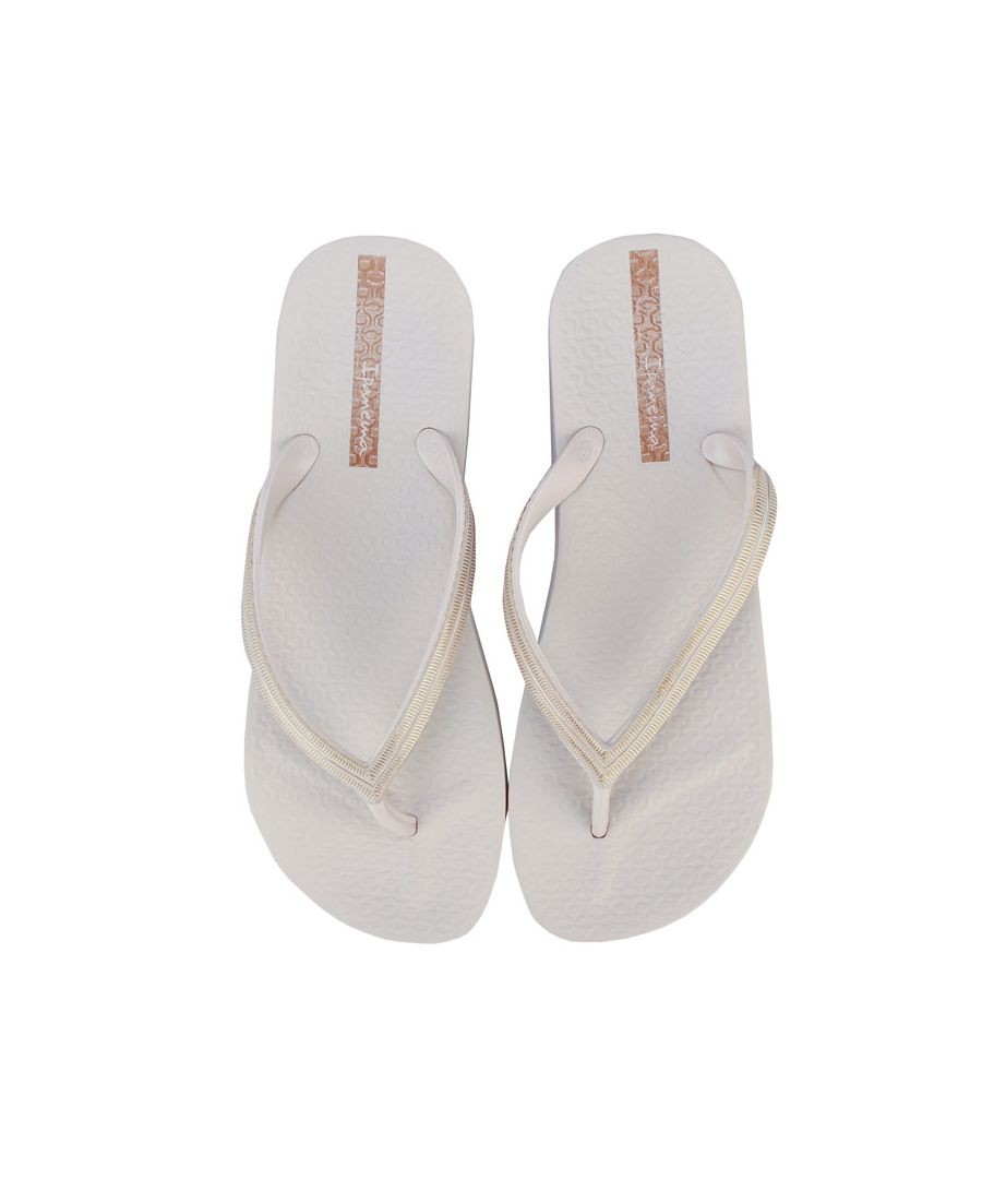 Image for Women's Ipanema Mesh Wedge Sandals in Ivory