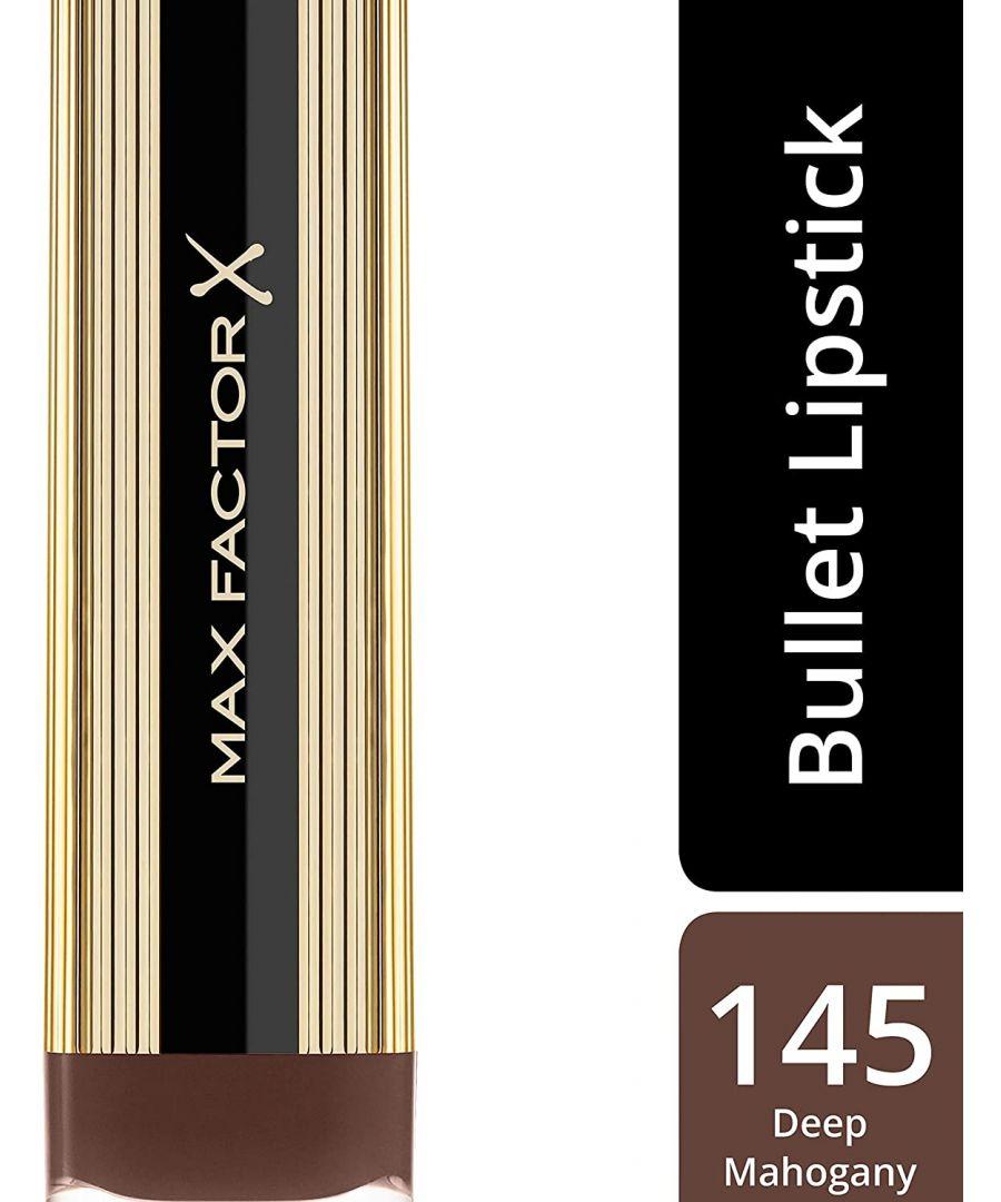 Image for Max Factor Colour Elixir Lipsticks - 145 Deep Mahogany