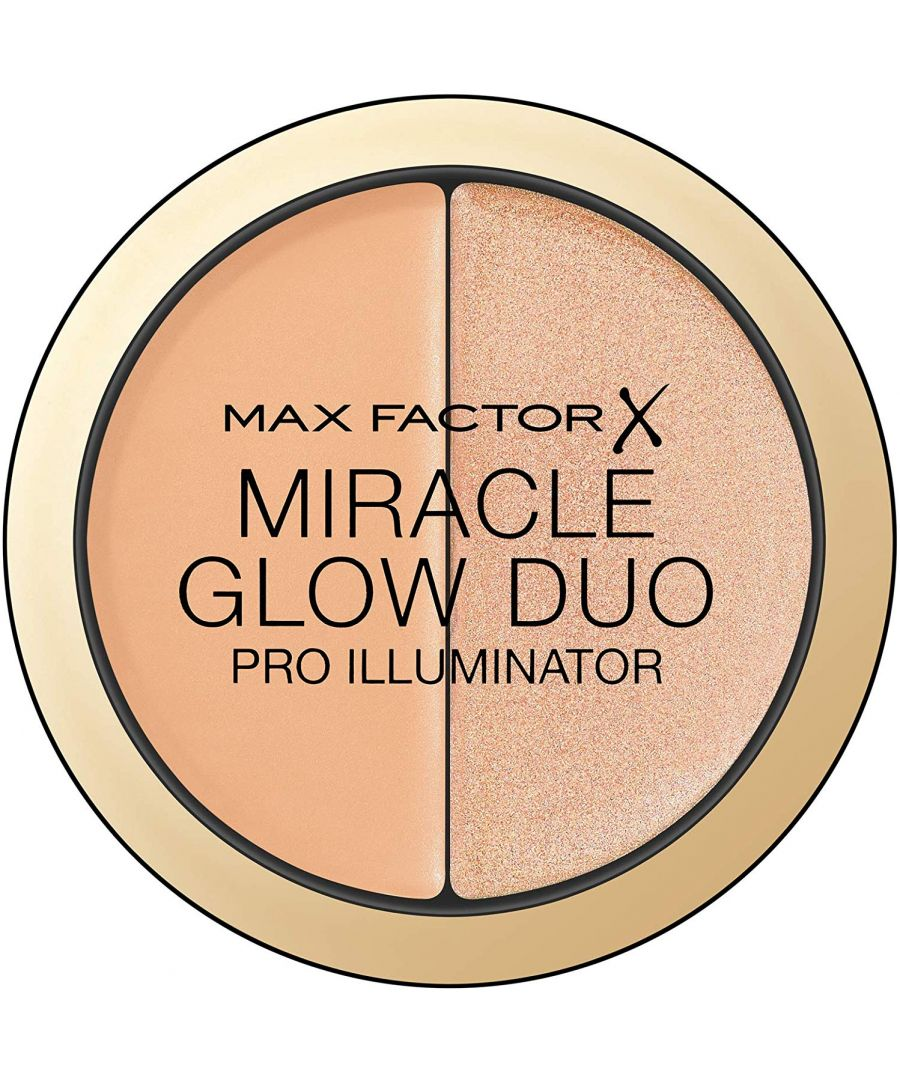 Image for Max Factor Miracle Glow Duo Pro Illuminator - 20 Medium