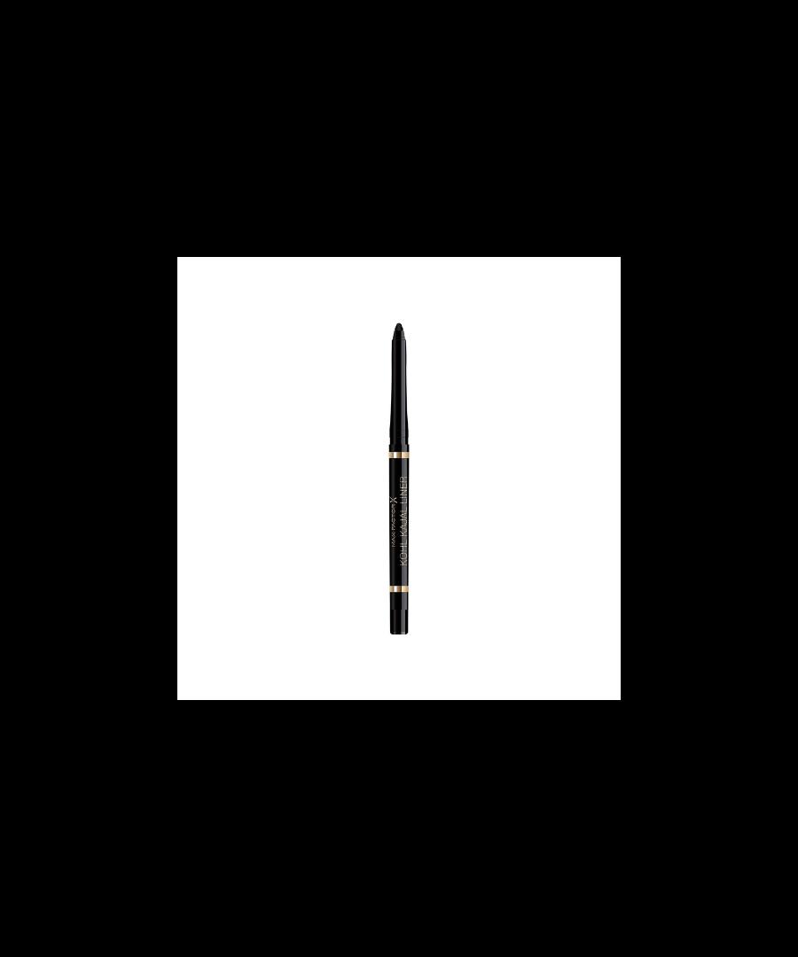 Image for Max Factor Kohl Kajal Eyeliner Automatic Pencil - 001 Black