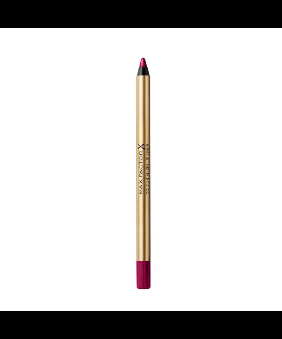 Image for Max Factor Colour Elixir Lip Liner - 20 Plum Passion