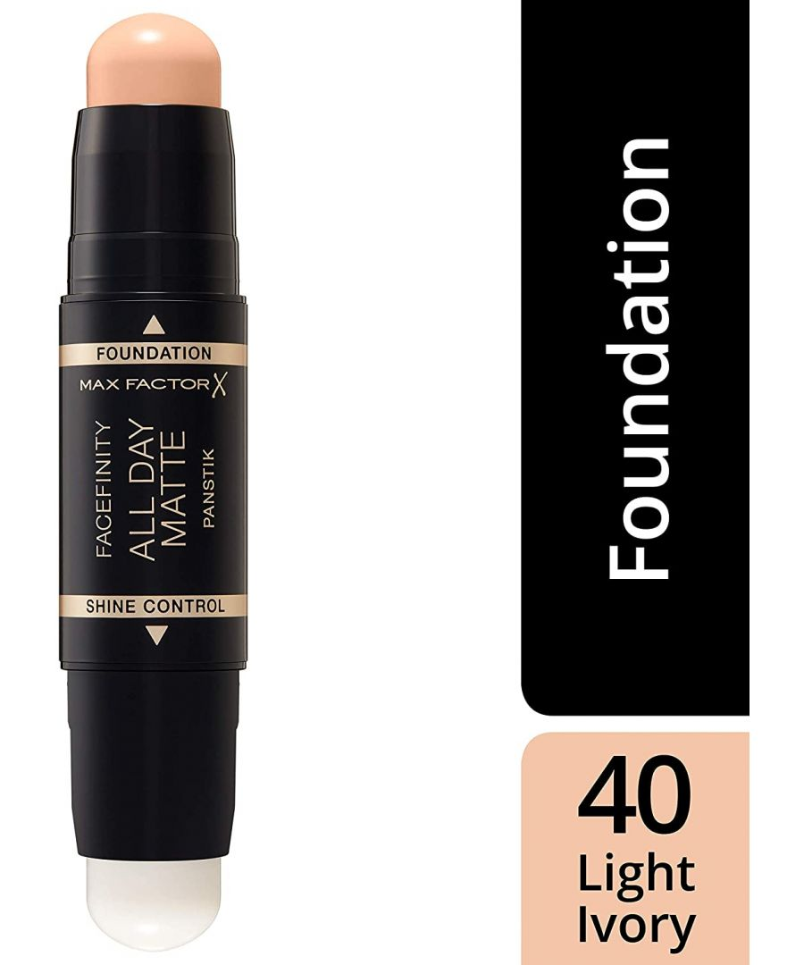 Image for Max Factor Facefinity All Day Matte 2in1 PanStik Foundation 40 Light Ivory