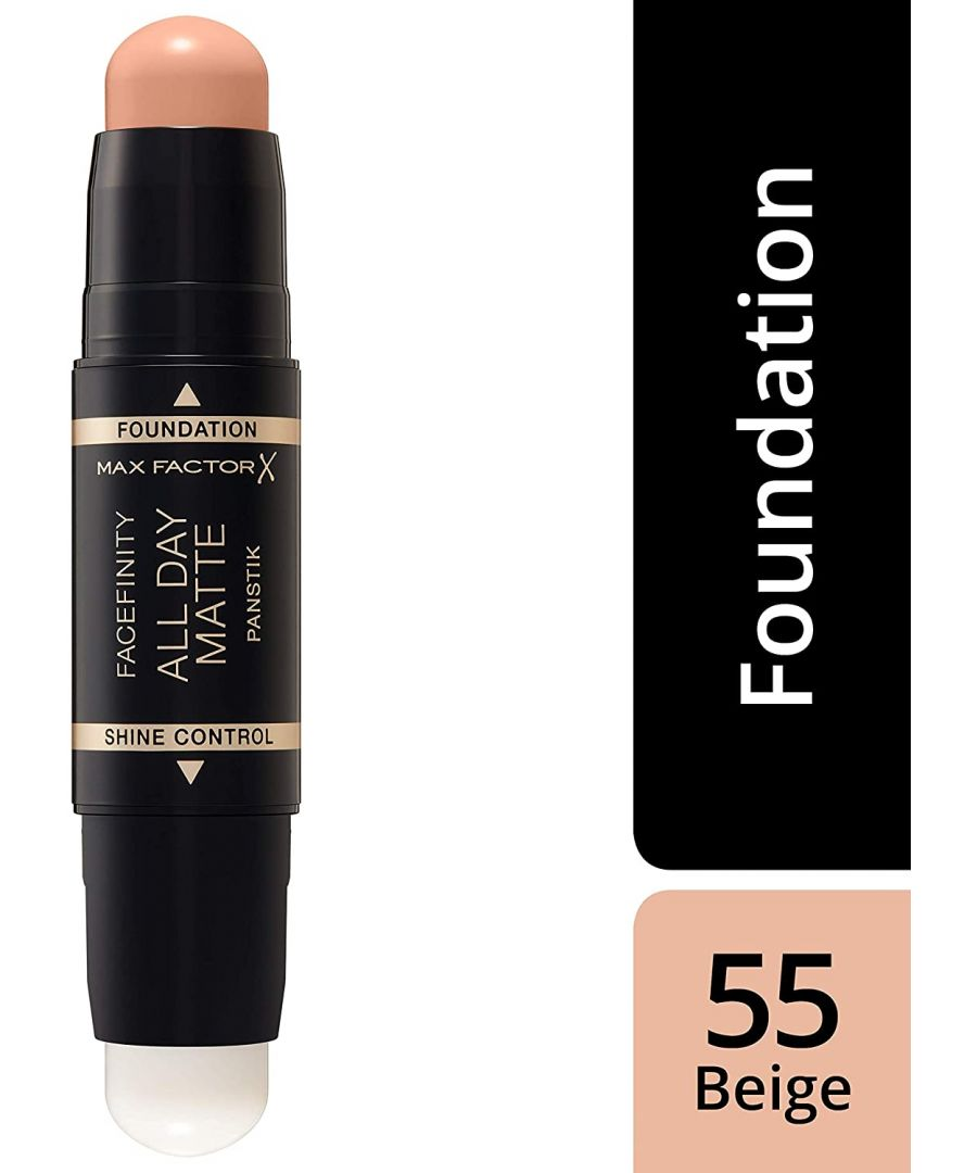 Image for Max Factor Facefinity All Day Matte 2in1 PanStik Foundation 55 Beige