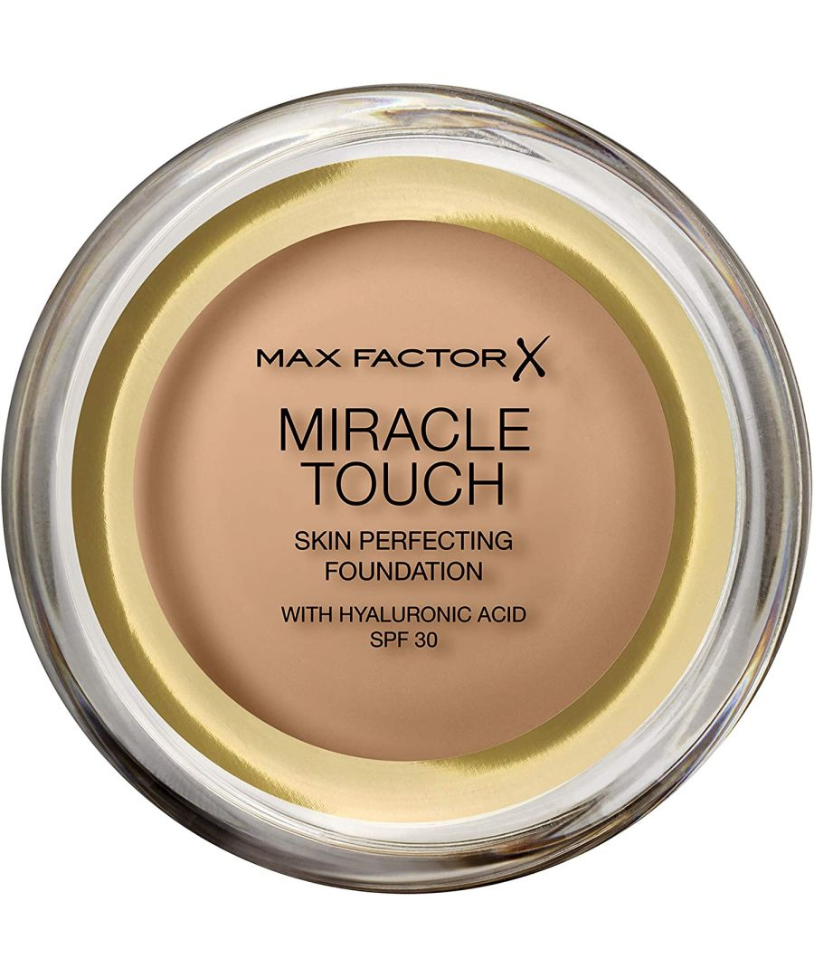 Image for Max Factor Miracle Touch Skin Perfecting Foundation SPF30 - 78 Sand Beige