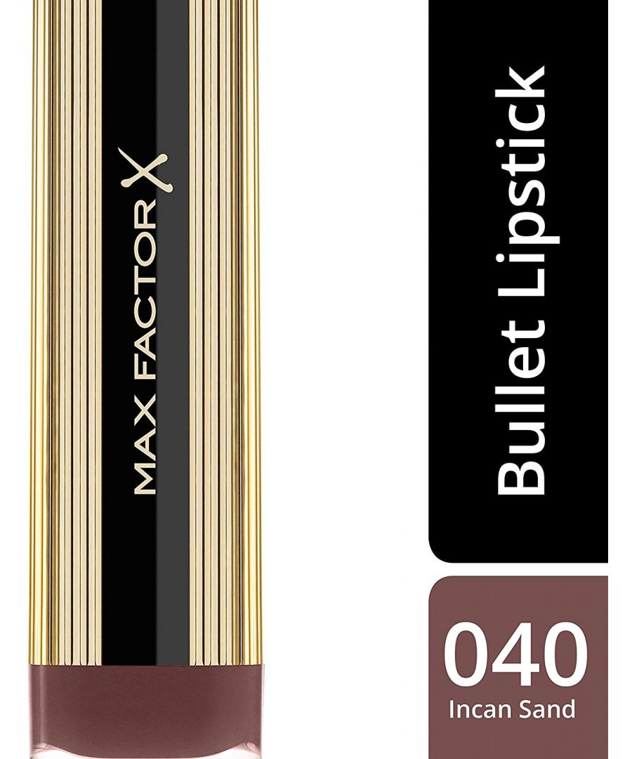 Image for Max Factor Colour Elixir Lipstick with Vitamin E 4g - 040 Incan Sand