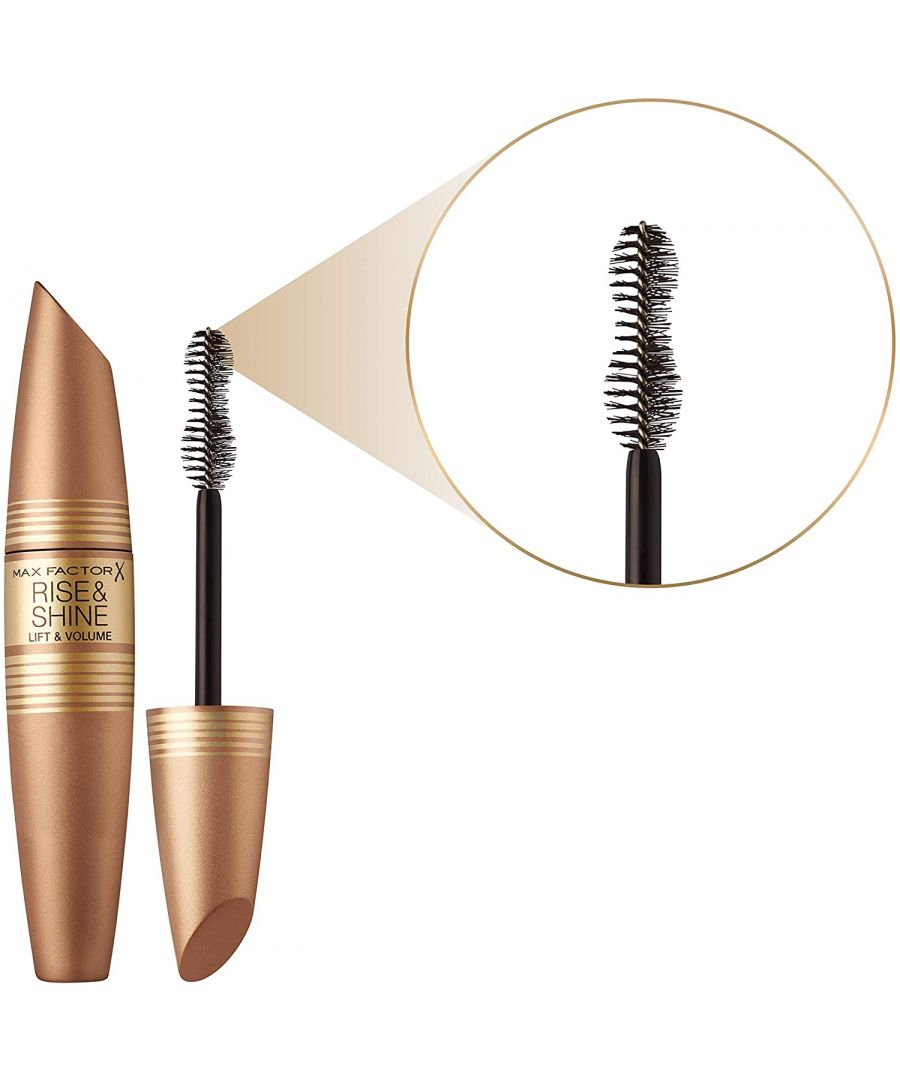 Image for Max Factor Rise & Shine Lift and Volume Mascara 12ml - Black/Brown