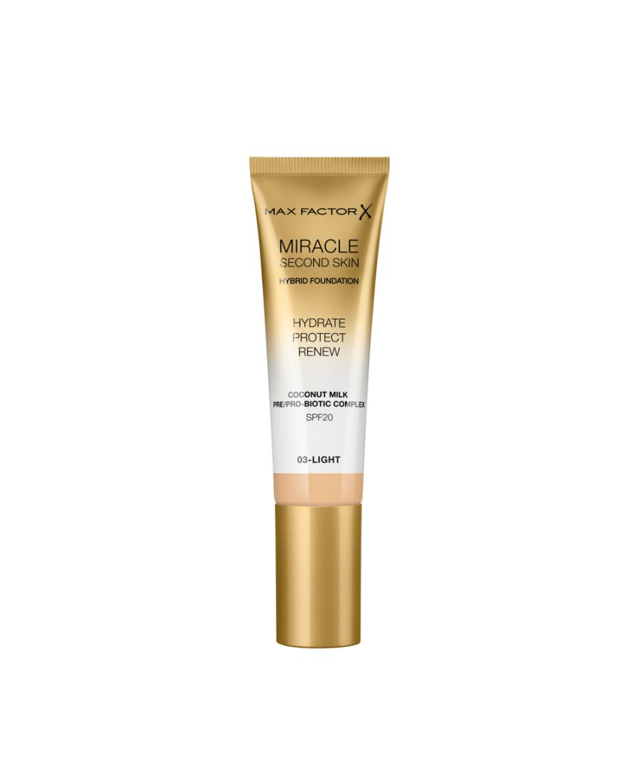 Image for Max Factor Miracle Second Skin Hybrid Foundation 30ml - 03 Light